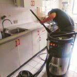 cocina limpieza